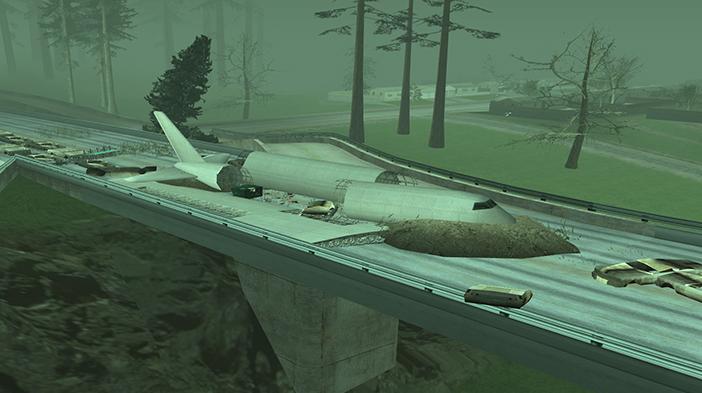 Обновление GTA SA:MP SEKTOR 2 - Разбитый самолет!
