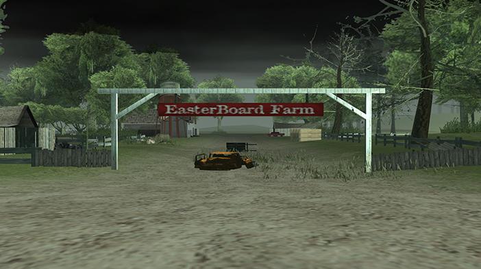Обновление GTA SA:MP SEKTOR 2 - Яблоневый сад и заброшенная деревня!