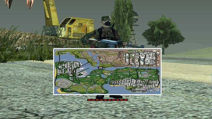 Обновление GTA SAMP SEKTOR 2: Карта!