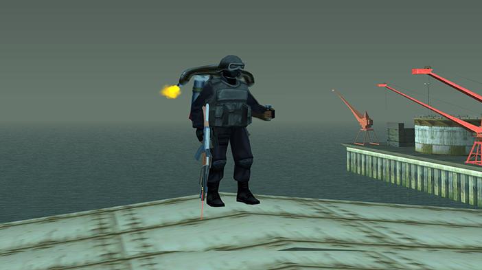Обновление GTA SA:MP SEKTOR 2 - Реактивный ранец!