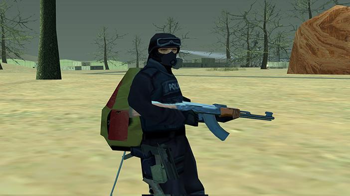 Обновление GTA SA:MP SEKTOR 2 - Износ респиратора!