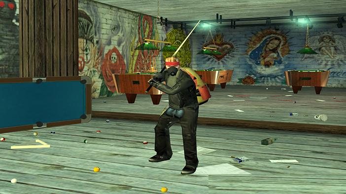 Обновление GTA SAMP SEKTOR 2: Заброшенный бильярдный клуб!