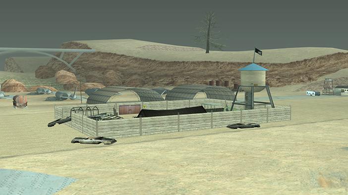 Обновление GTA SAMP SEKTOR 2: Разгромленный лагерь!